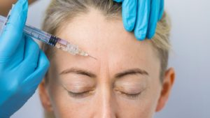 Woman getting Botox at Radiance Aesthetic Clinic, Exeter