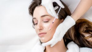 Lady gets Botox for fine lines - Radiance Aesthetic Clinic - Exeter