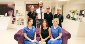 Radiance Aesthetic Clinic team photo - covid 19 salon and clinic guidelines